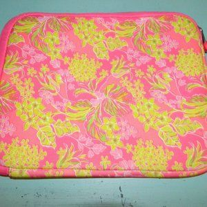 LILLY PULITZER iPad/Tablet Cover Zipper Case
